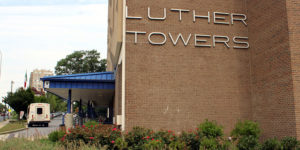Luther towers